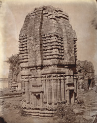General view of Temple No. 7, Telkupi, Manbhum District.
